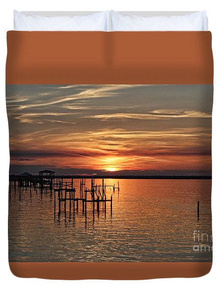 Peace Be With You Duvet Cover by Roberta Byram