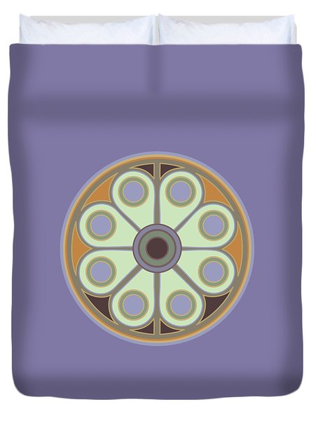 Peace Flower Duvet Cover