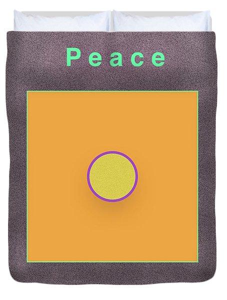 Peace Duvet Cover by Jack Eadon