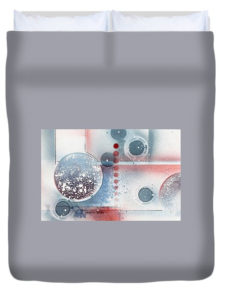 Peace Duvet Cover by Monte Toon