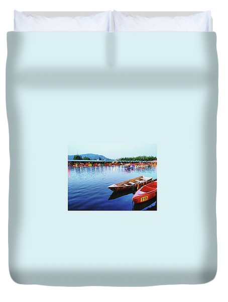 Peace Of Mind Duvet Cover