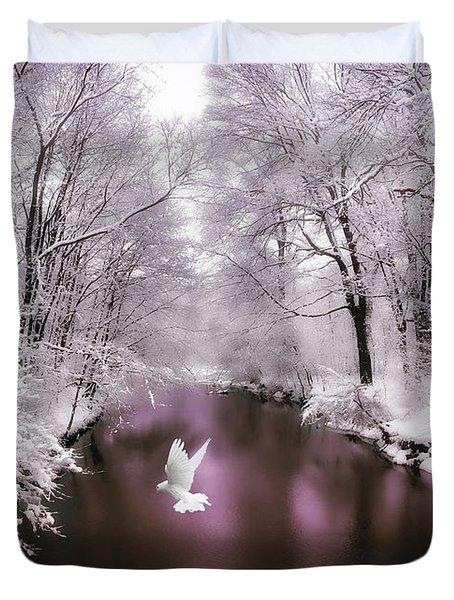 Peace On Earth   Duvet Cover