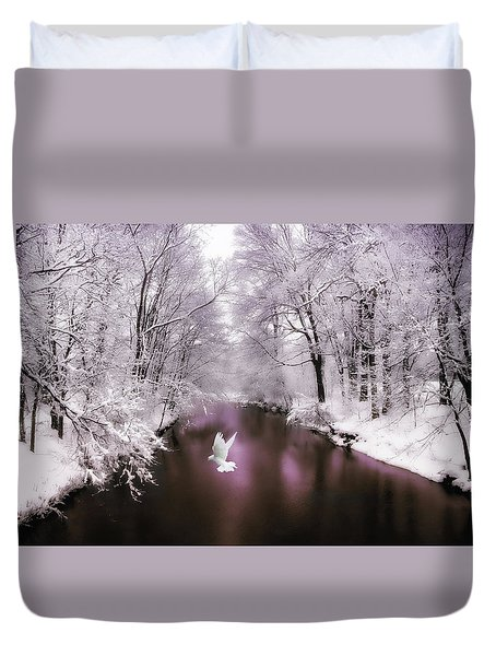 Peace On Earth   Duvet Cover