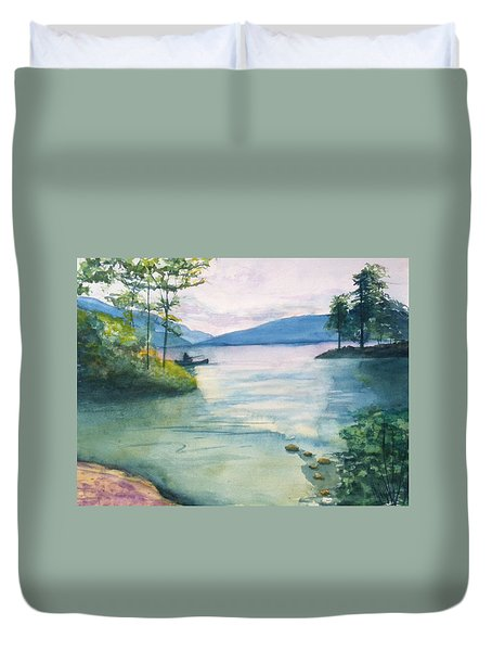 Peace On The Water  Duvet Cover