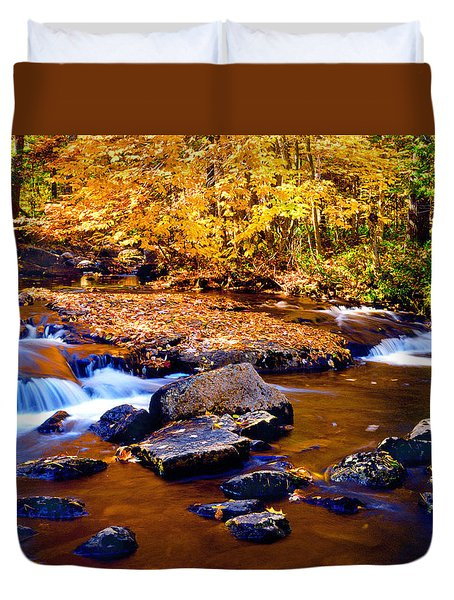 Peaceful Autumn Afternoon  Duvet Cover