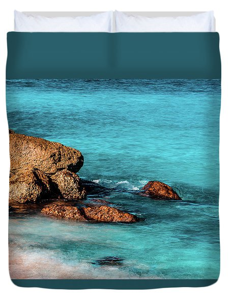 Peaceful Beach Duvet Cover