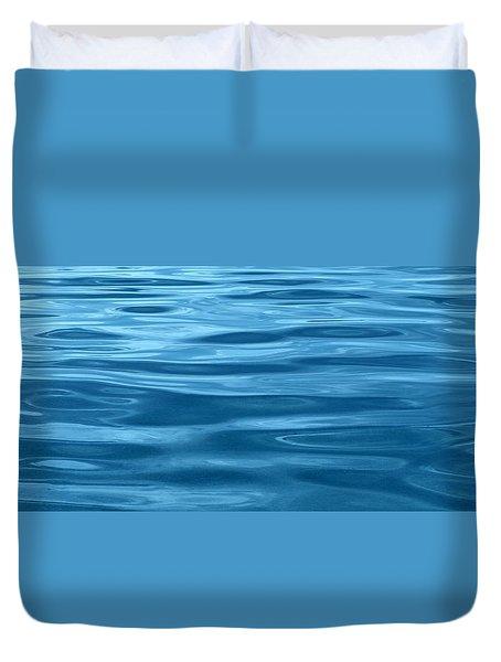 Peaceful Blue Duvet Cover
