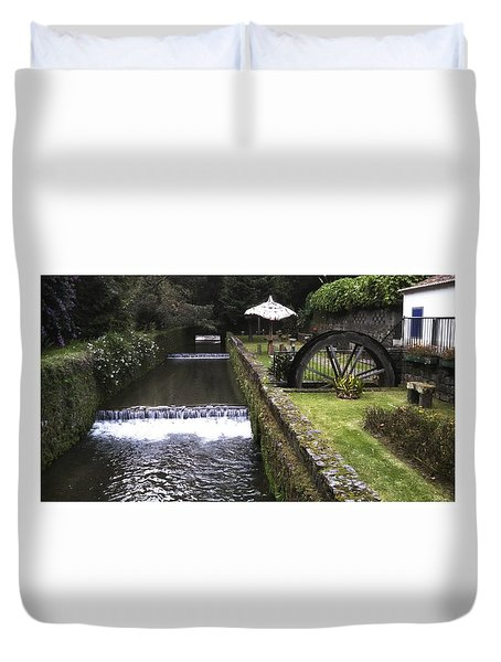 Peaceful Escape Duvet Cover
