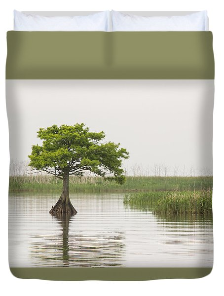 Duvet Cover featuring the photograph Peaceful Feeling by Julie Andel