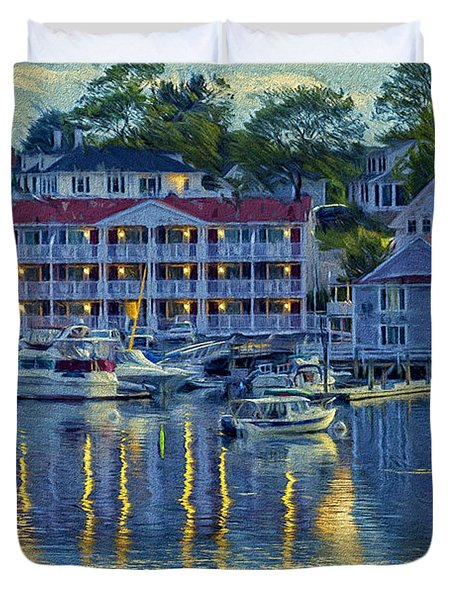 Peaceful Harbor Duvet Cover