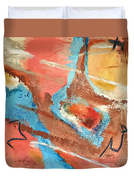 Peaceful Journey Duvet Cover