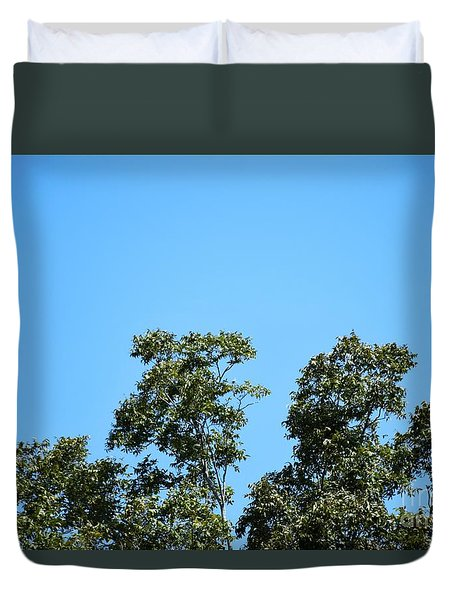 Duvet Cover featuring the photograph Peaceful Moment by Ray Shrewsberry