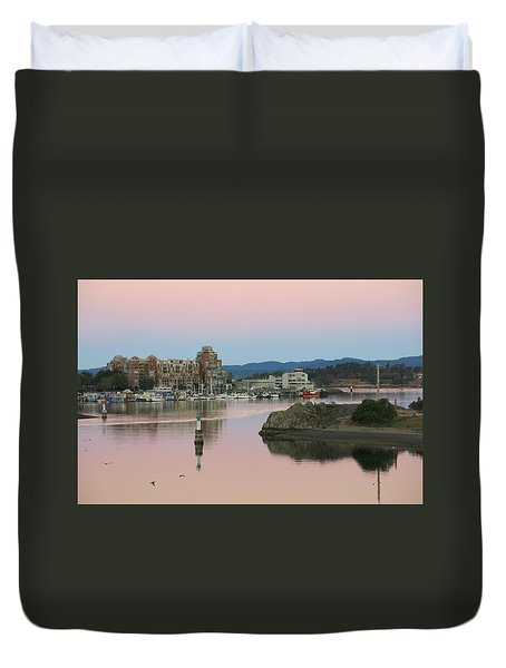 Peaceful Morning Duvet Cover