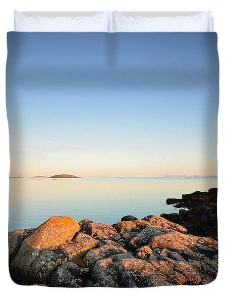Peaceful Morning Duvet Cover