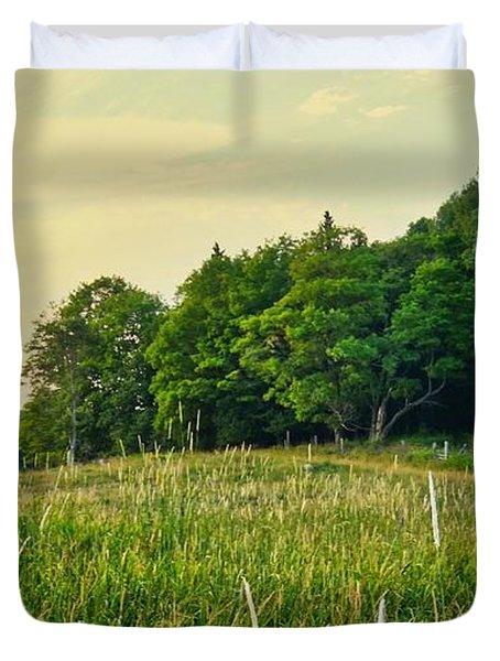 Peaceful Pastures Duvet Cover