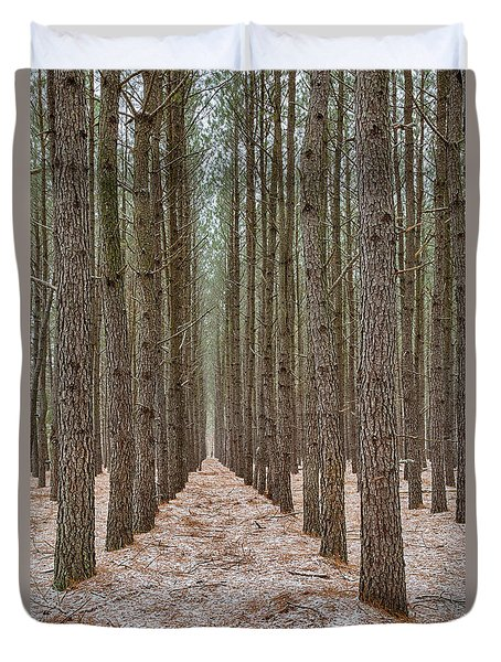 Peaceful Pines Duvet Cover
