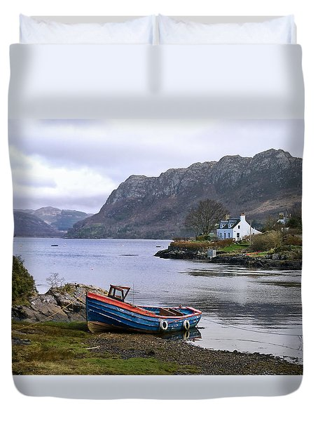 Peaceful Plockton Duvet Cover