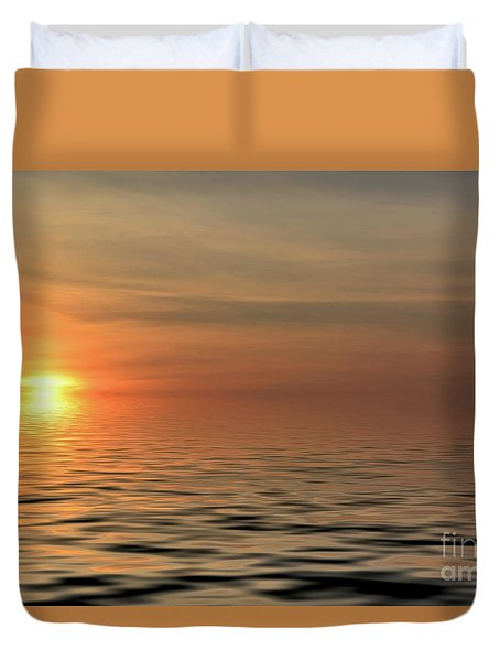 Peaceful Sunrise Duvet Cover