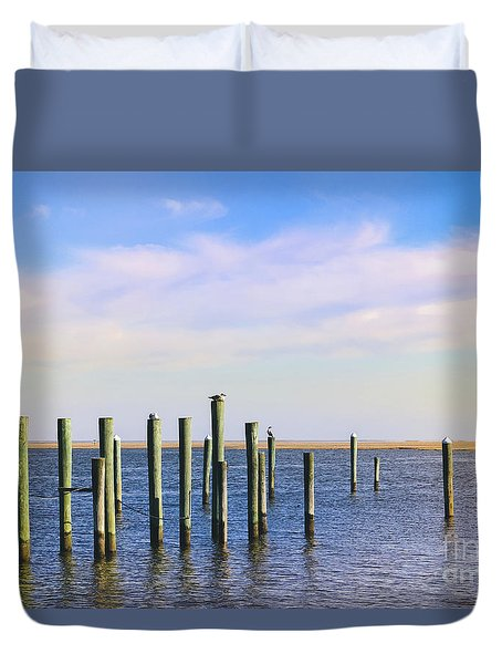 Duvet Cover featuring the photograph Peaceful Tranquility by Colleen Kammerer
