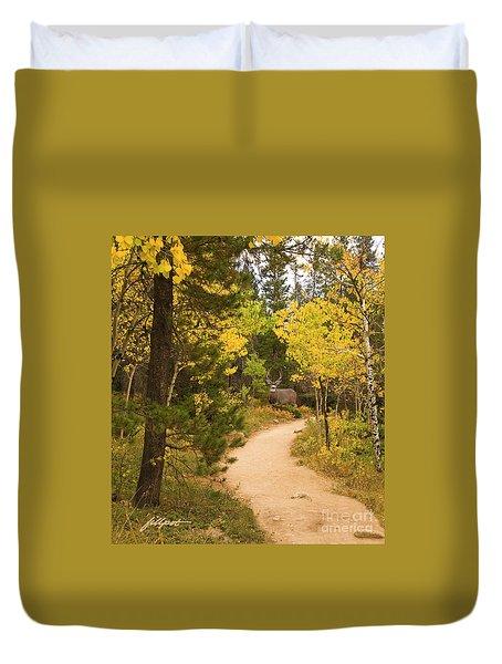 Peaceful Walk Duvet Cover
