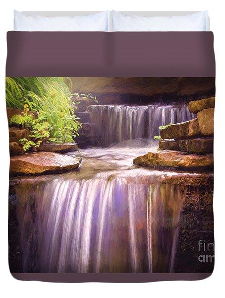 Peaceful Waters Duvet Cover