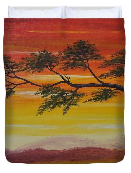 Peacefulness Duvet Cover by Georgeta  Blanaru