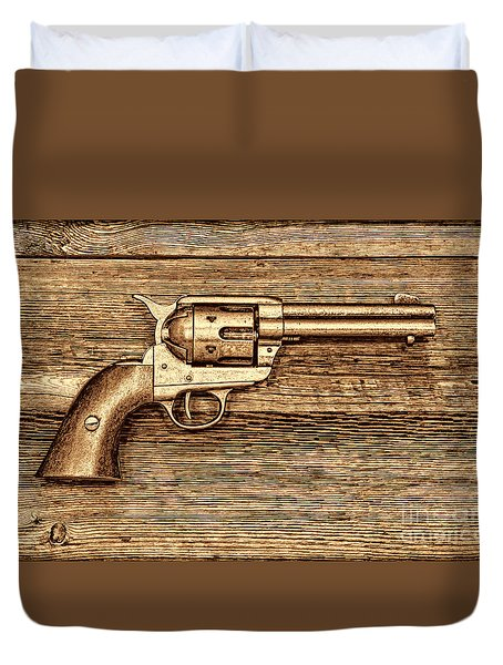 Peacemaker Duvet Cover by American West Legend By Olivier Le Queinec