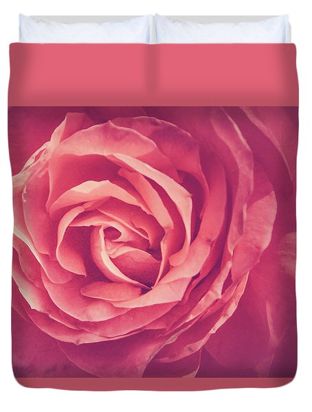 Blooms And Petals Duvet Cover