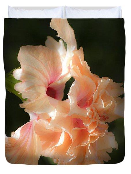 Peach Bliss Duvet Cover