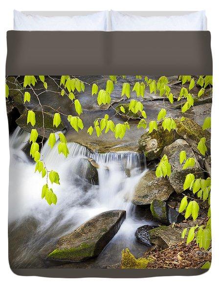 Peacham Brook Spring Duvet Cover