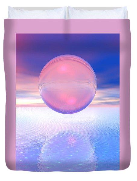 Peachy Duvet Cover