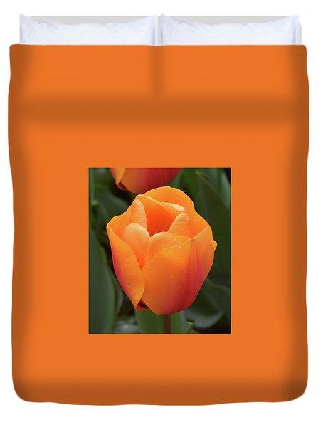 Peachy Keen Duvet Cover