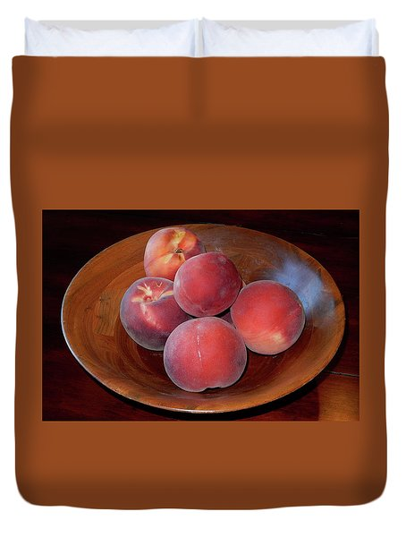 Peachykeen Duvet Cover