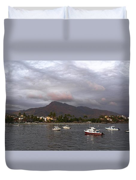 Peaceful Duvet Cover by Jim Walls PhotoArtist