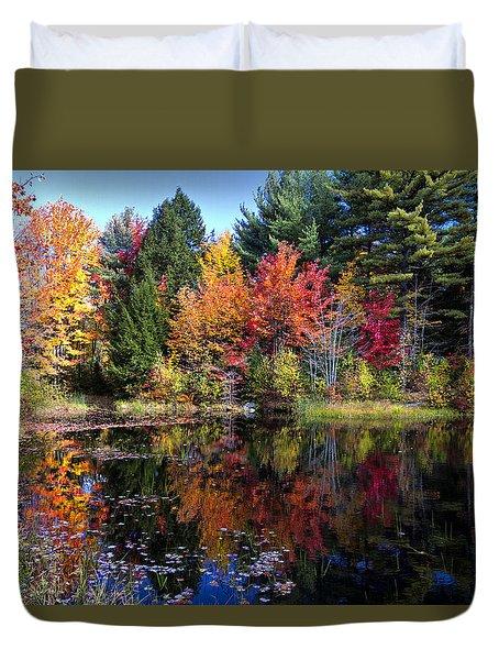 Peak Color  Duvet Cover