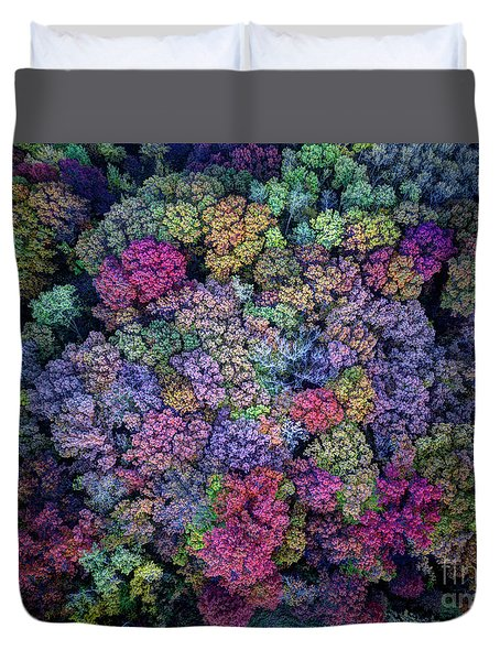 Peak Colors Minnesota Parks - Lebanon Hills Park Dakota County Duvet Cover