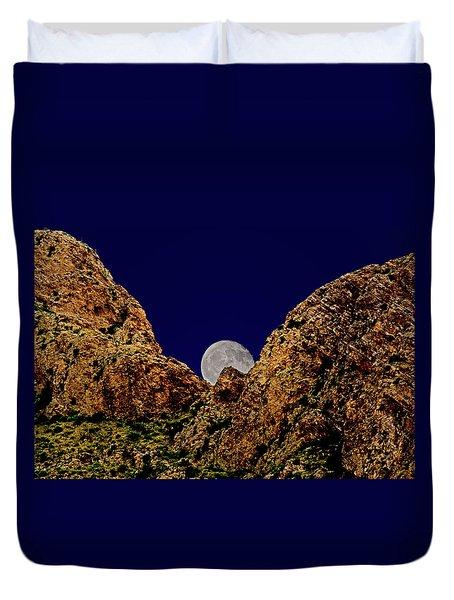 Peak Full Moon H03 Duvet Cover