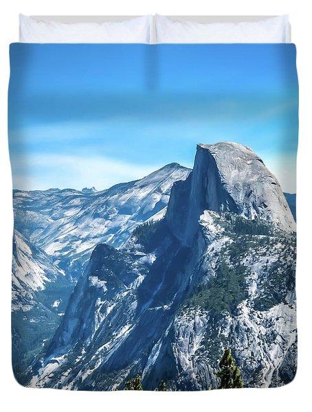 Peak Of Half Dome- Duvet Cover