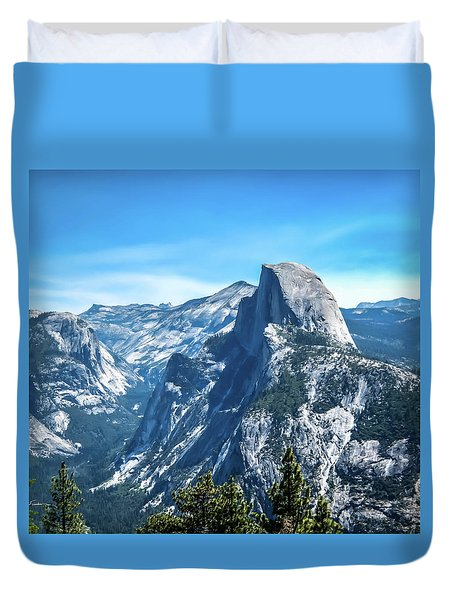 Peak Of Half Dome- Duvet Cover