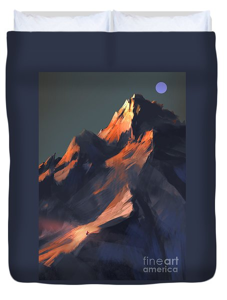 Peak Duvet Cover