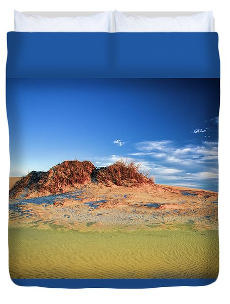 Peaks Of Jockey's Ridge Duvet Cover