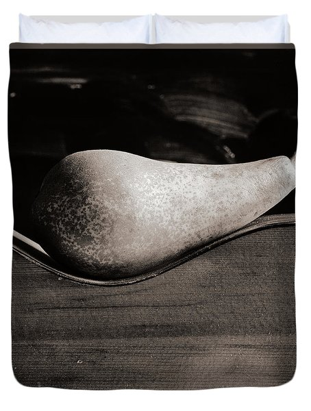 Pear #4745 Duvet Cover by Andrey Godyaykin