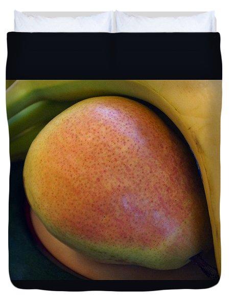 Pear And Banana Duvet Cover