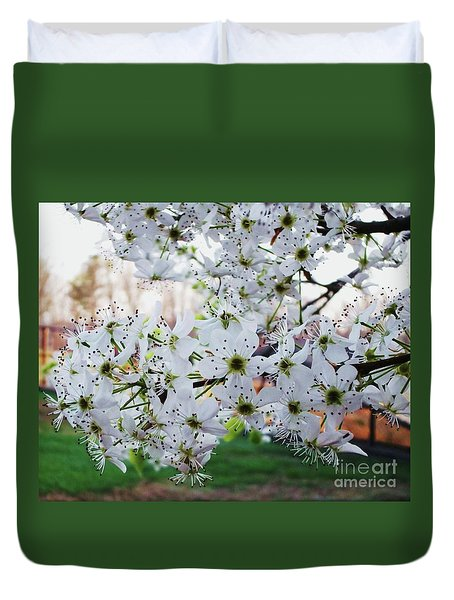 Pear Tree Duvet Cover