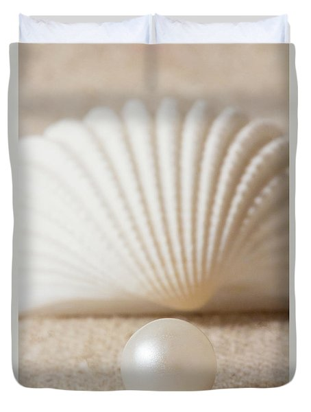 Pearl And Shell Duvet Cover