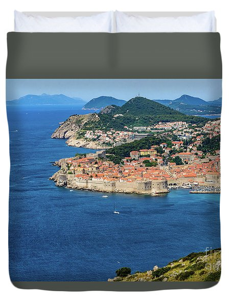 Pearl Of The Adriatic, Dubrovnik, Known As Kings Landing In Game Of Thrones, Dubrovnik, Croatia Duvet Cover
