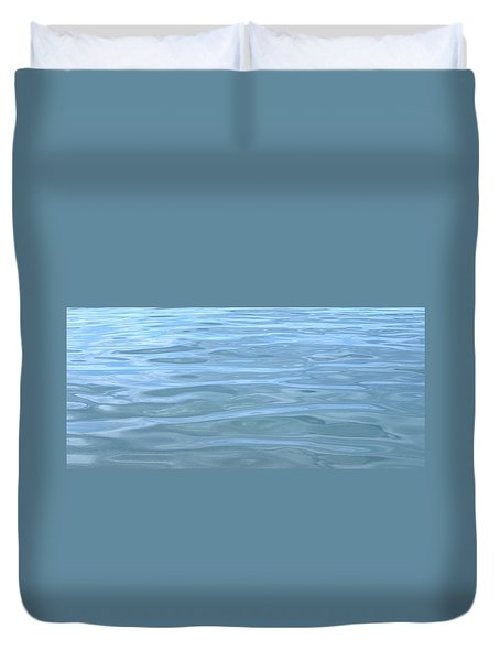 Pearlescent Tranquility Duvet Cover