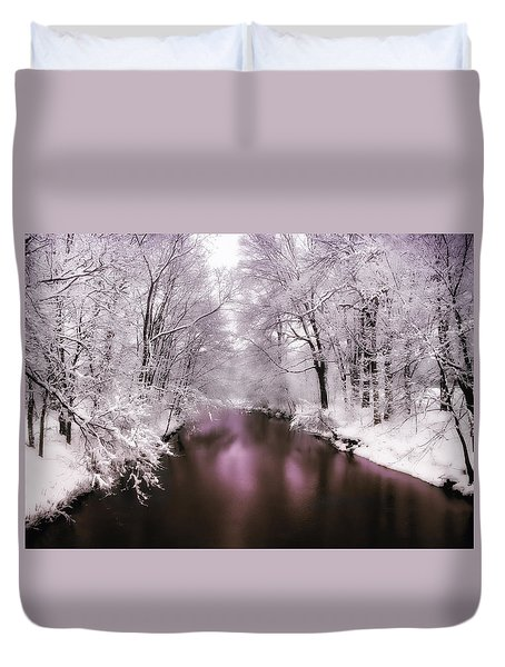 Pearlescent Duvet Cover