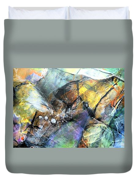 Pearls Of Wisdom Duvet Cover