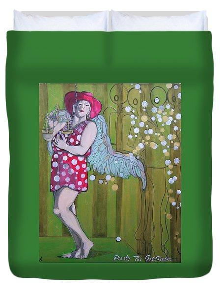 Pearly Duvet Cover by Darlene Graeser